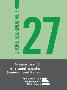 Die Grüne Hausnummer